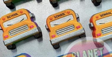 Back to School Bus Plastic Bomb Mold