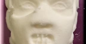 Large Scary Dr. Man Halloween Man Plastic Bath Bomb Mold