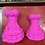 Thumbnail: Large or Medium Sexy Corset Burlesque Dress Plastic Bath Bomb Mold