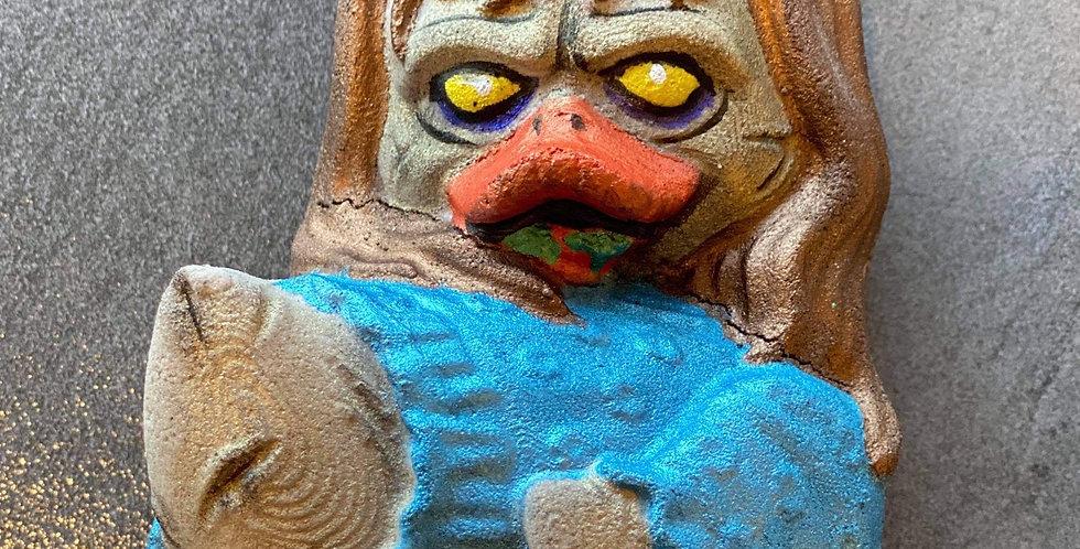 Linda Horror Duck Plastic Bath Bomb Mold