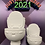 Thumbnail: Large or Medium Plain or Smiling Toilet Plastic Bath Bomb Mold