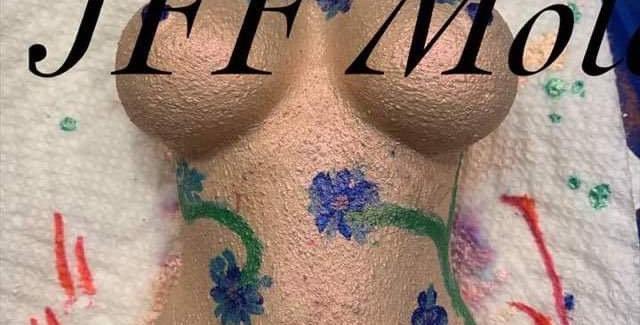 Voluptuous Plastic Woman's Body Breasts Bath Bomb Mold