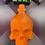 Thumbnail: Skull Potion Bottle Plastic Bath Bomb Mold