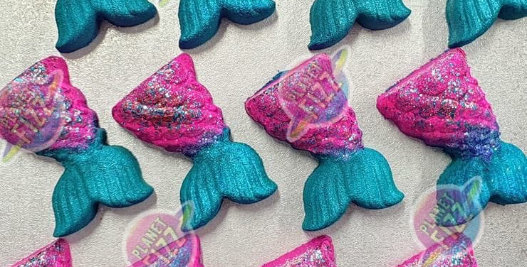 The Ultimate Mermaid Tail Plastic Bath Bomb Mold- Regular