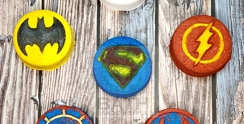 Power Characters Plastic Bath Bomb Mold Collection - Six Styles