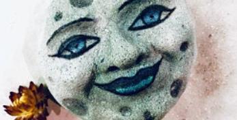Man in the Moon Plastic Bath Bomb Mold