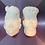 Thumbnail: Jumbo Mr & Mrs. Frank Plastic Bath Bomb Mold- Set