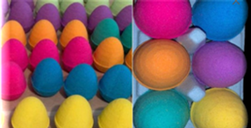 3D Printed 2 Inch Egg Bath Bomb Maker with built in plunger