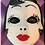 Thumbnail: Scary Woman Mask Plastic Bath Bomb Mold
