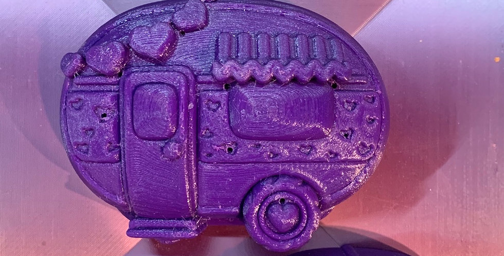 Large or Medium Love Shack Camper Plastic Bath Bomb Mold