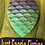 Thumbnail: Tear Drop Mermaid Plastic Bath Bomb Mold