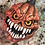Thumbnail: Jumbo Scary Pumpkin Plastic Bath Bomb Mold