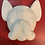 Thumbnail: Day of the Dead Dog Plastic Bath Bomb Mold