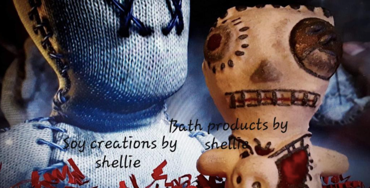 Voodoo Doll Plastic Bath Bomb Mold