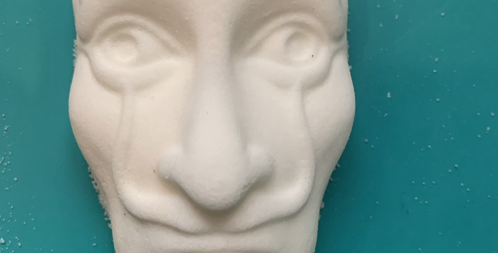 Money Heist Dali Mask Plastic Bath Bomb Mold