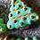 Thumbnail: Holiday Tree Plastic Bath Bomb Mold