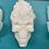 Thumbnail: Large or Medium Flaming Skulls Plastic Bath Bomb Mold