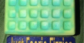 Waffle Plastic Bath Bomb Mold