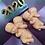 Thumbnail: Large or Medium Two Headed Demon Baby Plastic Bath Bomb Mold