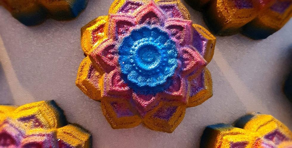 Mandala Plastic Bath Bomb Mold