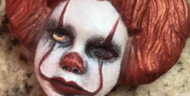 Baby Scary Clown Plastic Bath Bomb Mold