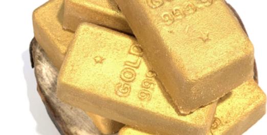 Gold Bar Plastic Bath Bomb Mold