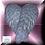 Thumbnail: Feathered Angel Wings Plastic Bath Bomb Mold