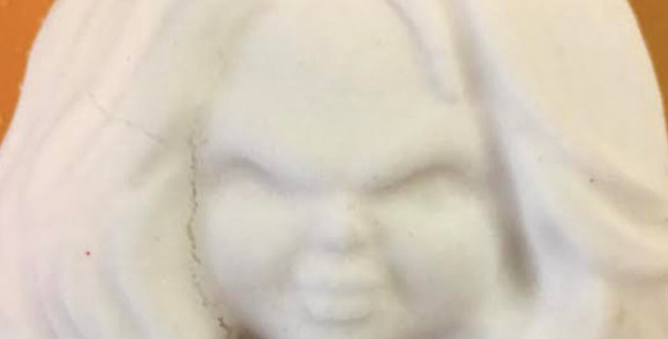 Horror Character Bath Bomb Mold