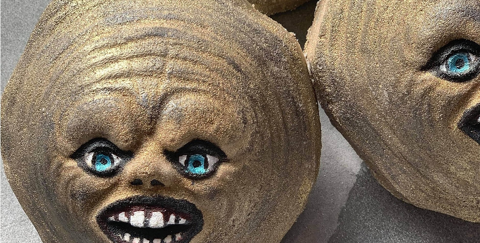 Scary Gingerbread Man Plastic Bath Bomb Mold