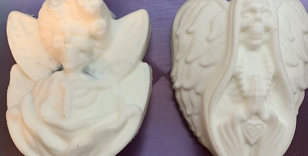 Skeleton Fairies Two Styles Plastic Bath Bomb Mold