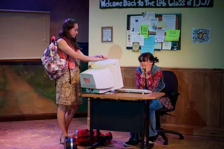 """The world premiere of """"The Oregon Trail"""" by Bekah Brunstetter at Flying V Theatre"""