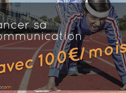 LANCER SA COM POUR 100€ PAR MOIS !