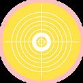 bulle jaune objectif cible