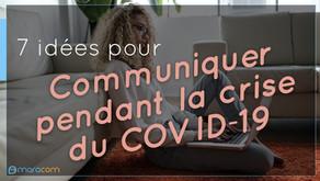 7 idées pour communiquer pendant la crise du Coronavirus à La Réunion
