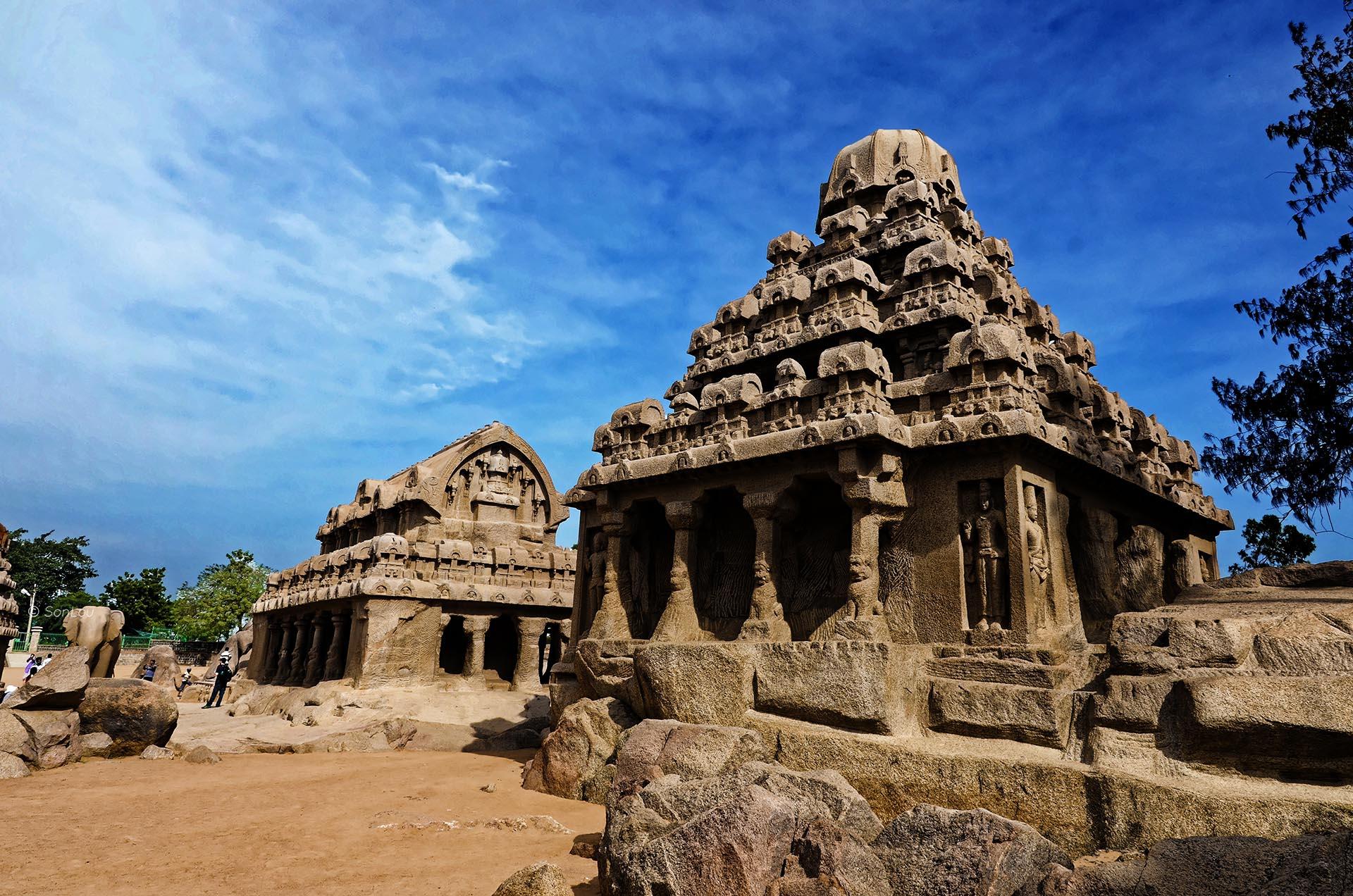 Mahabalipuram 5 rathas