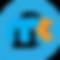 Maracom, consulting en communication, présente un logo bleu et orange. Les initiales mc sont présentées dans un a en symétrie.