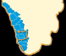 Carte du Kérala
