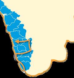 carte circuit kérala