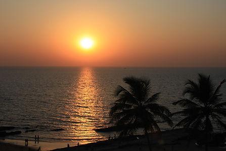 Coucher de soleil à Goa
