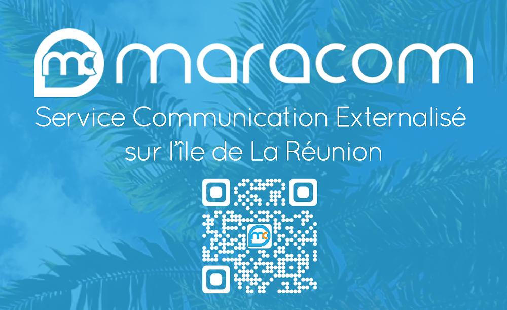 Carte de visite Alexandra MARA La Réunion maracom verso