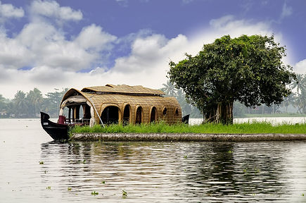 Kettuvalam, houseboat traditionnelle