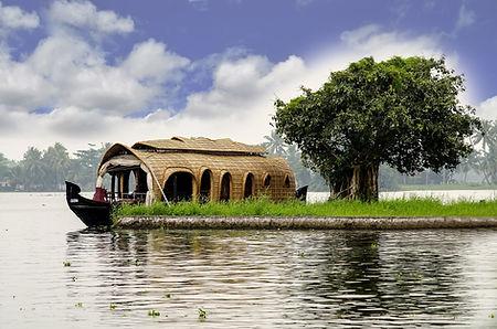 Houseboat du Kérala