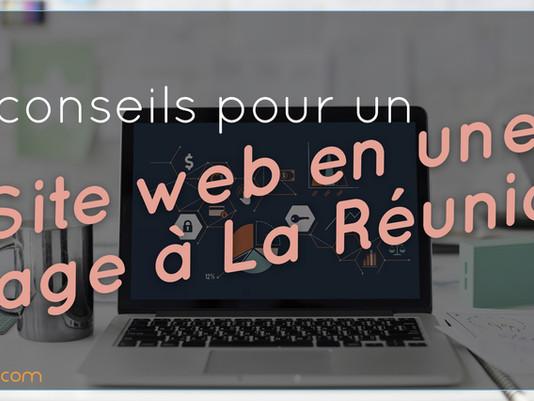 5 conseils pour créer son site web en une page avec un budget limité à La Réunion