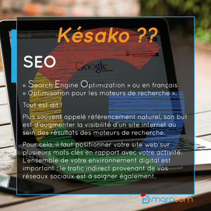 késaco comprendre les termes de la communication, SEO search engine optimization