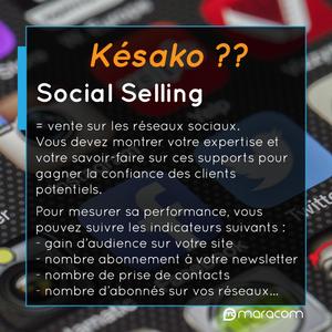 késako social selling maracom définition