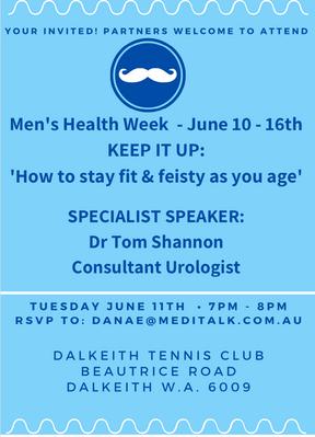 Mens Health Week Event