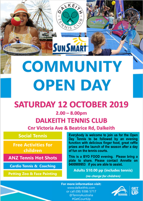 Open Day and Season Launch