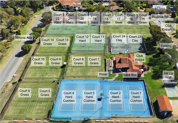 Dalkeith Courts Map.png