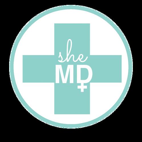 SheMD Sticker
