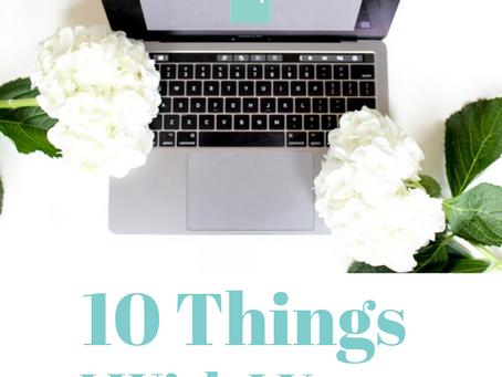 10 Things I Wish I Knew Before Medical School
